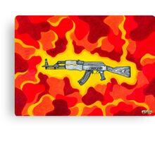 Machine Gun Funq Canvas Print