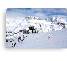 Tignes, France, Ski resort Canvas Print