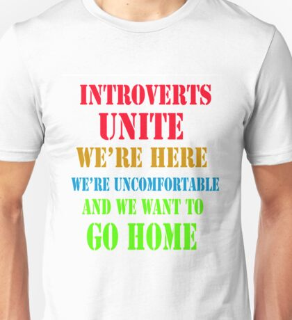 introverts Unisex T-Shirt