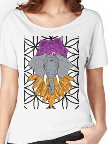 Concious Critter - Elephant Women's Relaxed Fit T-Shirt