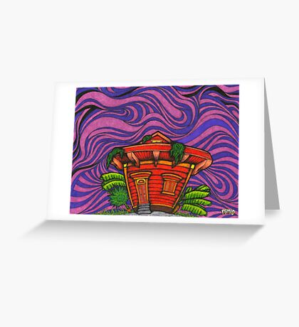Funkadelic Bayou Greeting Card