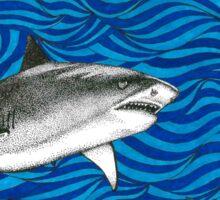 Psych Shark Sticker