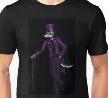 Wolf in top hat Unisex T-Shirt