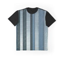 Linear Blue Graphic T-Shirt