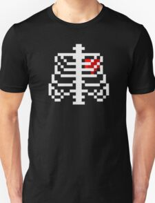 8-bit Ribs and heart  T-Shirt
