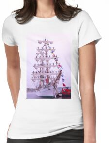 The Cuauhtemoc Womens Fitted T-Shirt