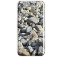 Pebbles at the sea shore. iPhone Case/Skin