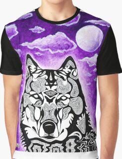 Funq Wolf Graphic T-Shirt