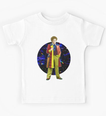The 6th Doctor - Colin Baker Kids Tee