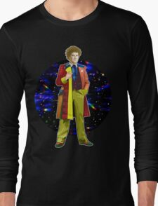 The 6th Doctor - Colin Baker Long Sleeve T-Shirt