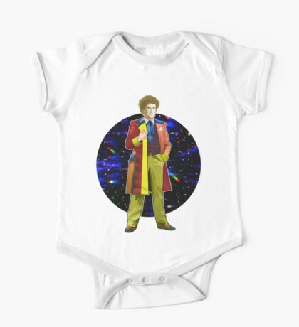 The 6th Doctor - Colin Baker One Piece - Short Sleeve
