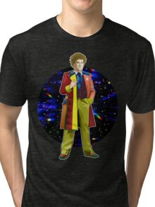 The 6th Doctor - Colin Baker Tri-blend T-Shirt