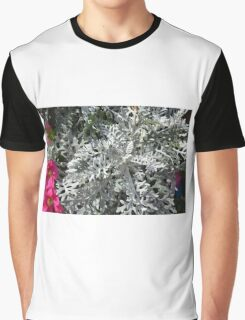 Green plants and flowers in the park. Graphic T-Shirt