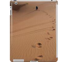 Steps in the sand. Desert dunes. iPad Case/Skin