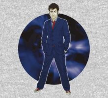 The 10th Doctor - David Tennant Kids Tee