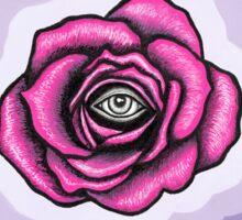 Indigo Rose Sticker