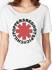 Red Hot Spicy Chili Poppers Women's Relaxed Fit T-Shirt