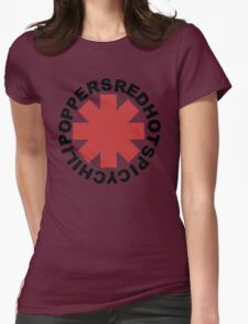 Red Hot Spicy Chili Poppers Womens Fitted T-Shirt