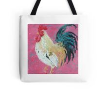 Rooster painting, Rueben Tote Bag