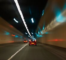 Through a Tunnel in Wales by AnnDixon