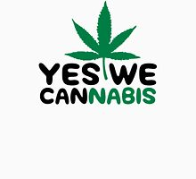 Yes We Cannabis Womens Fitted T-Shirt