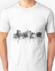 Saskatoon, Saskatchewan Skyline - CRISP Unisex T-Shirt