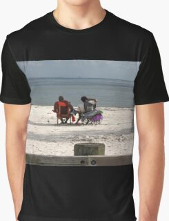 people on river sea Graphic T-Shirt
