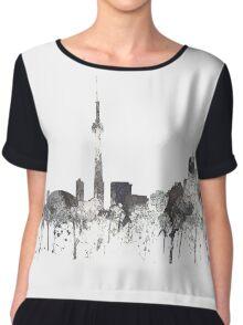 Toronto, Ontario Skyline - CRISP Chiffon Top