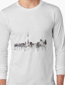 Toronto, Ontario Skyline - CRISP Long Sleeve T-Shirt