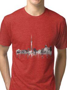 Toronto, Ontario Skyline - CRISP Tri-blend T-Shirt