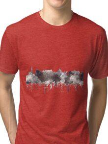 Victoria, British Columbia, Canada Skyline - CRISP Tri-blend T-Shirt