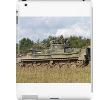 A British Army Warrior Infantry Fighting Vehicle iPad Case/Skin