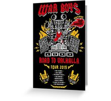 Road to Valhalla Tour Greeting Card