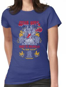 Road to Valhalla Tour Womens Fitted T-Shirt