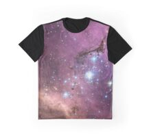 Purple Nebula Graphic T-Shirt