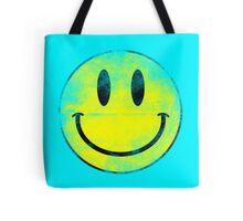 Smiley worn off Tote Bag