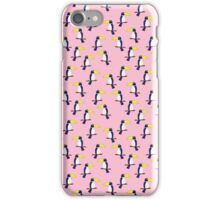 Bright Toucan Vector Seamless Pattern iPhone Case/Skin