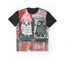 Owls 4 Graphic T-Shirt