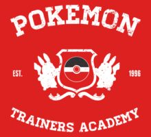 Pokemon Trainers Academy One Piece - Long Sleeve
