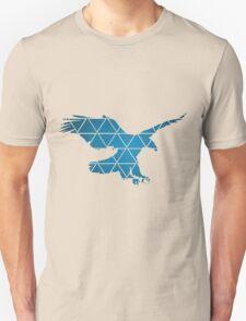 American Bald Eagle (Ocean-Blue) T-Shirt