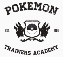 Pokemon Trainers Academy  Baby Tee