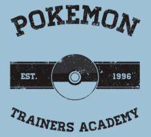 Pokemon Trainers Academy Baby Tee