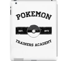 Pokemon Trainers Academy iPad Case/Skin