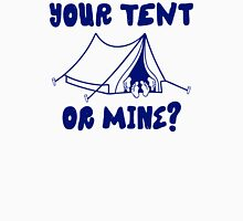 Your Tent Or Mine Womens Fitted T-Shirt