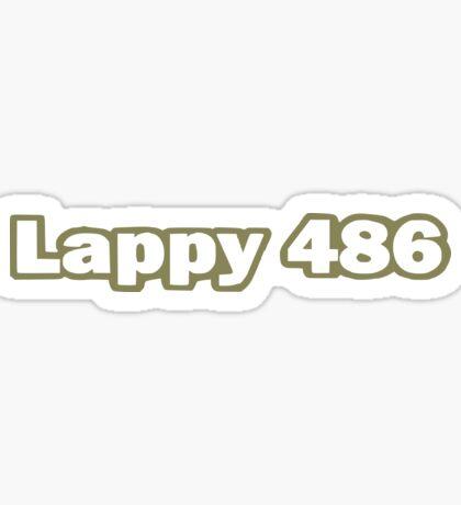 Lappy 486 Sticker