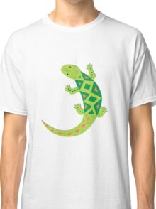 Bright Lizard Vector Illustration Classic T-Shirt