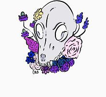 Floral Dog Skull Tank Top
