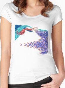 Dancing monster Women's Fitted Scoop T-Shirt