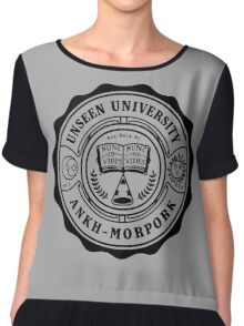 Invisible University Chiffon Top