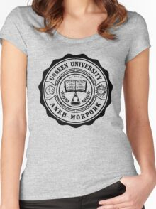 Invisible University Women's Fitted Scoop T-Shirt